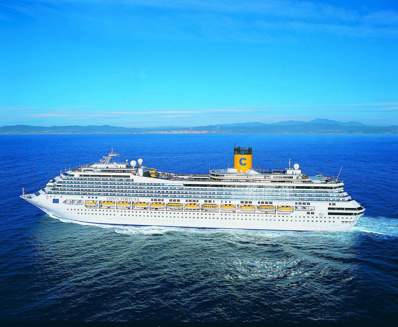 Costa Fortuna Cruiseships Cruiseway